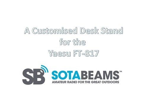 SOTABEAMS FT817 desk stand
