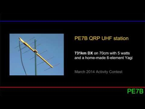 432MHz QRP DX: 731km with 5W and a WA5VJB Yagi