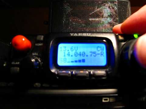 Listening To Morse Code On The Yaesu FT-817ND