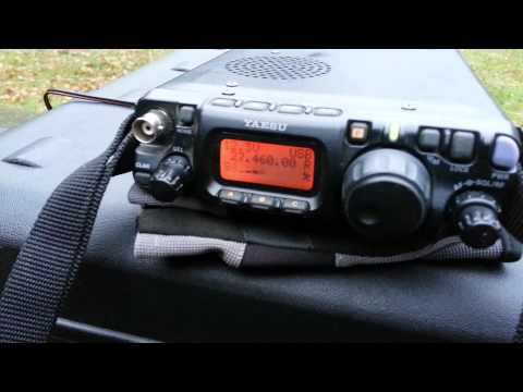 19RF007 QRP portible in qso with 31RC167 sunday 17 November 2013..
