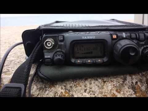 QRP DXing, G7DIE/PM with KK7XX