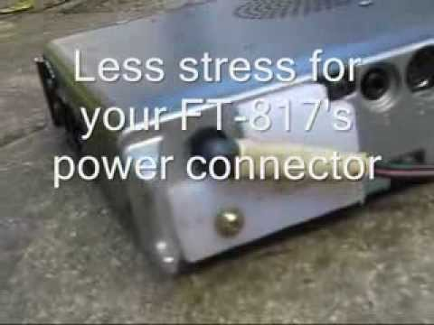 Less stress for your FT817