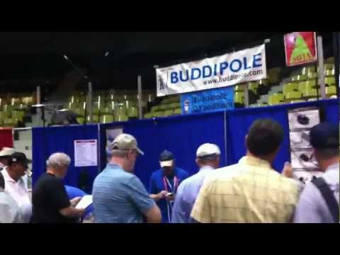 Buddipole Booth at Dayton 2012
