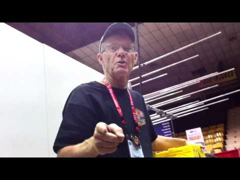 WG0AT with Buddipole booth from Dayton Hamvention 2012