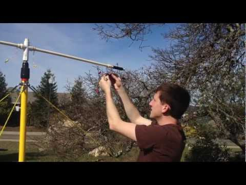 Homebrew Buddipole with Modifications