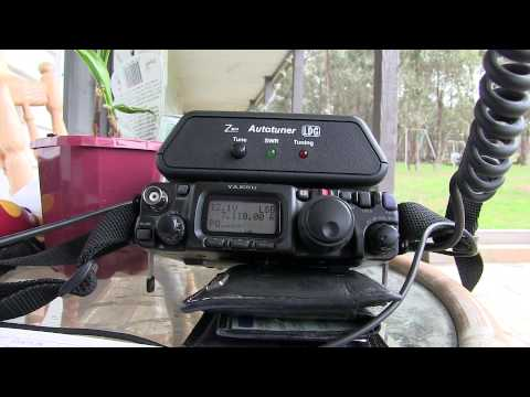 Amateur Radio 5w QRP with Buddipole from Maldon, Victoria, Australia