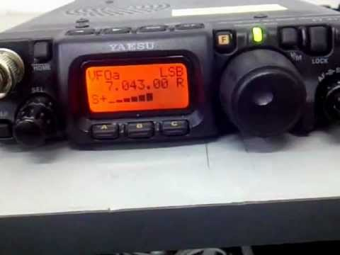 9M2PJU QRP Operation With Yaesu FT817ND