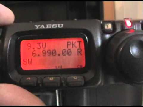yaesu ft-817nd + homebrew fishing pole antenna, SWL-ing over the HF bands