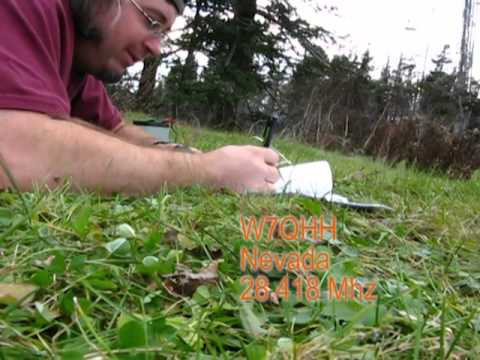 Mt. Sunapee SOTA Activation - QRP Portable 10 meters