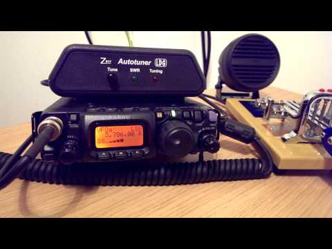 DX SWL on 80m using a Yaesu FT-817ND