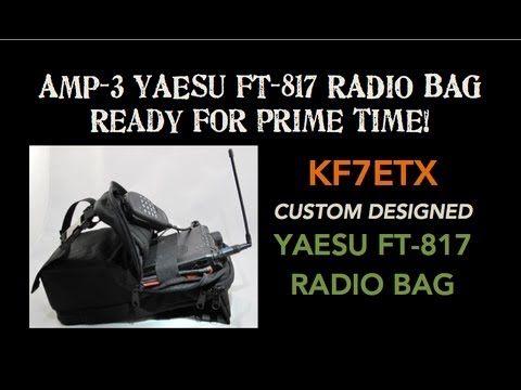 FT 817 RADIO BAG . . . Ready for prime time!