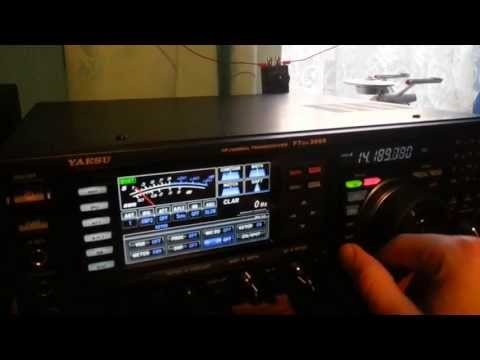 Yaesu FT-817ND with Alexloop and FTDX-3000 with Wonderloop comparison