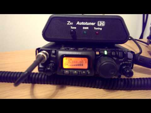 Listening to G0KXV on 40m SSB from Yaesu FT-817ND