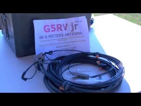 Working The Radio Wavz G5RV JR Antenna