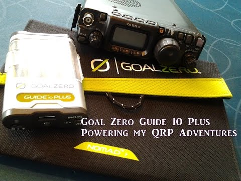 Goal Zero Guide 10 Plus Powering QRP Adventures