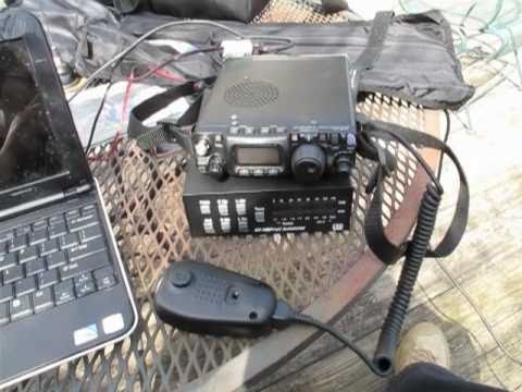My QRP Portable Station-Yaesu FT-817ND