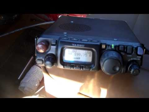 FT-817 VHF 144mhz QRP QSO between KE7SAK an WA7JTM