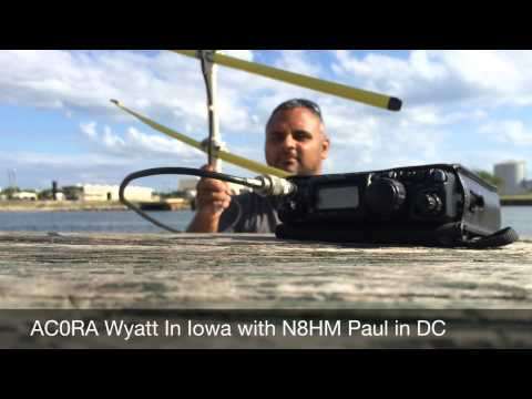 SSB Amateur Ham Radio Satellites with Yaesu FT-817  and Yagi