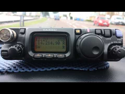 HF mobile with FT817