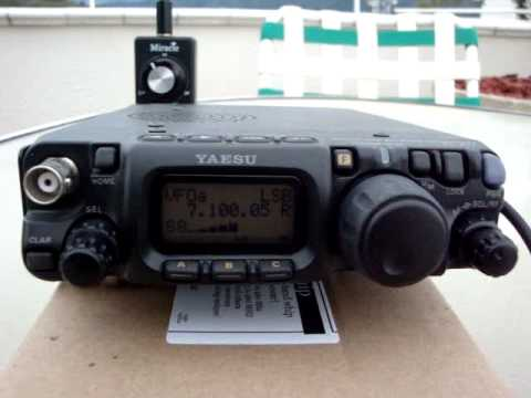 Miracle Whip with YAESU FT-817 YV4GJN