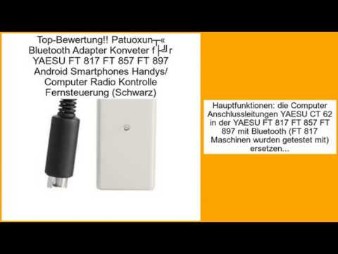 Patuoxun® Bluetooth Adapter Konveter für YAESU FT 817 FT 857 FT 897 Android Smart