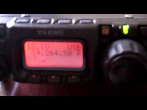 FT-817 QRP QSO KB1VXP (ME) to OK6DJ (Czech Republic)