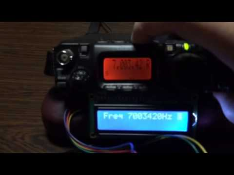 FT-817ND External Display with Arduino MEGA 2560