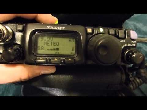 BHI dsp test (2014) with Yaesu FT-817nd. By KARLIEGE