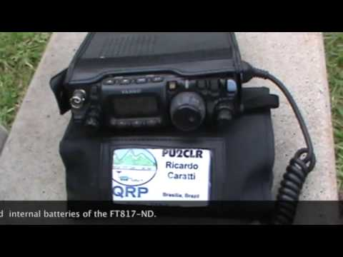 QRP Station with FT817-ND and 10 meters Yagi for portable