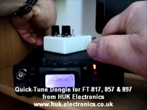 Quick-Tune Dongle for the FT-817, FT-857 & FT-897