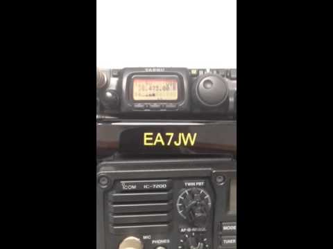 QRP EA7JW  CX8DS   FT817 EADelta7B