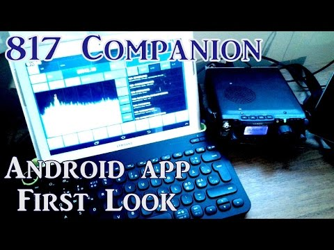 Yaesu FT817 CAT Control via OTG & Bluetooth | 817 Companion Android