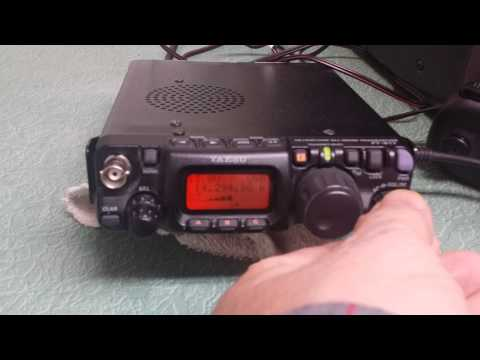 Yaesu FT-817 HF/VHF/UHF All Mode Transceiver