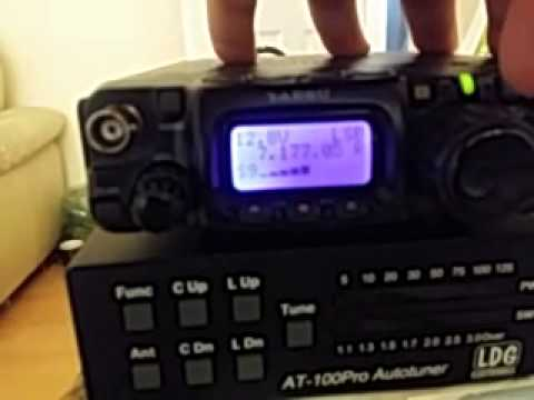 My Yaesu FT-817ND showing no noise level at my QTH
