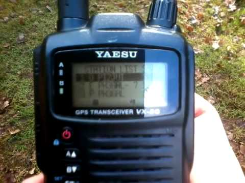 Using my Digipeater (I-Gate) with Yaesu VX-8GE