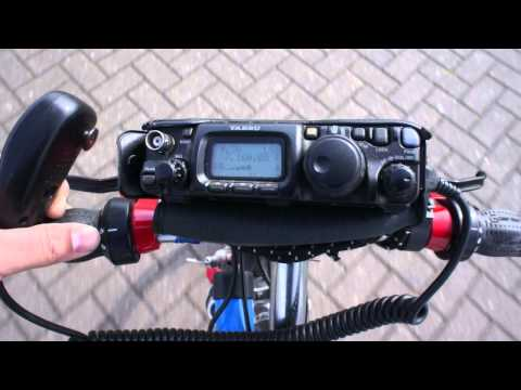 Bicycle Mobile with the Yaesu FT-817 and MP1 Super Antenna