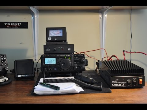 Yaesu FT-897D with 2.3khz Collins SSB filter