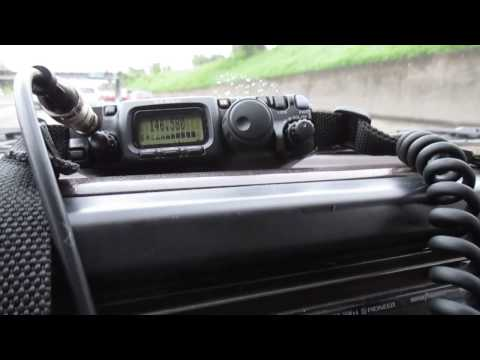 2 meter simplex with yaesu ft-817nd qrp good distance from WA to OR