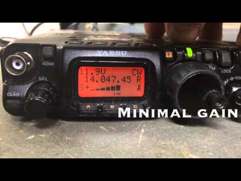 Testing W4RT 500hz CW Mechanical Filter FT-817