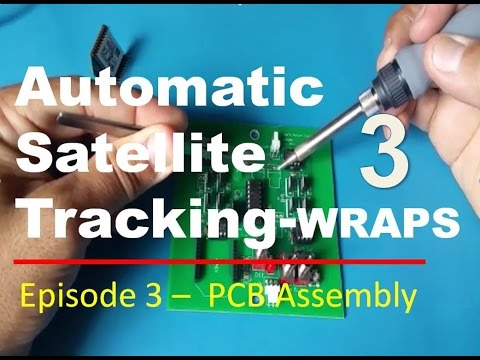 Ham Radio Portable Satellite Tracking System WRAPS - EP3 Electronics Assembly