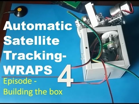 Ham Radio Portable Satellite Tracking System WRAPS- EP4 Building the box