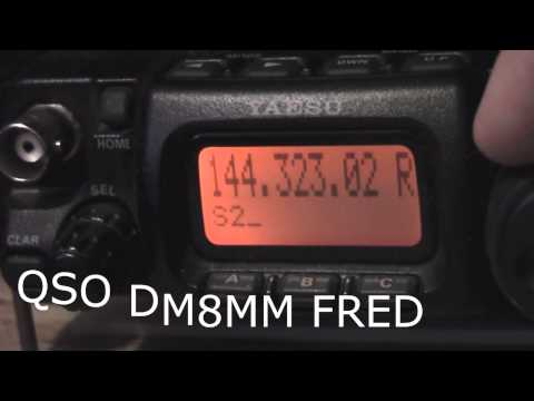 f0fvk dm8mm op fred : qso qrp ft817 5w