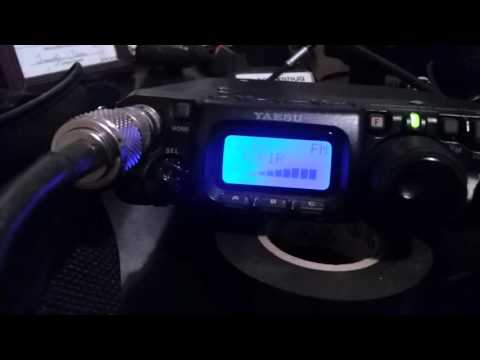Yaesu ft 817nd on 70cm repeater qrp
