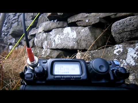M0RSF/P 20M SOTA activation of G/NP-017 Fountains Fell