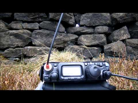 M0RSF/P 20M SOTA activation of G/NP-028 Rombalds Moor