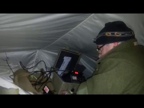 QRP Winter Camping