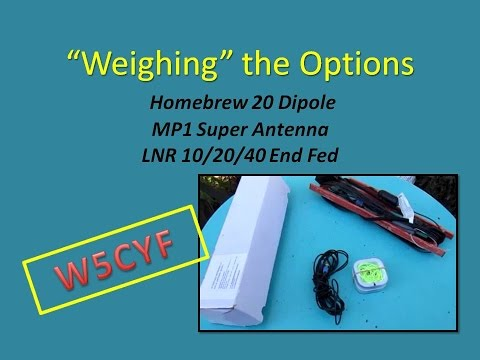 Compare the Weights of MP1 Super Antenna–LNR 10/20/40-Dipole