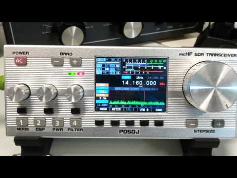 QSO AE2B - PD5DJ/QRP with MCHF SDR Transceiver
