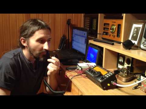 IZ0PAU QSO with SP4WRF QRP magnetic loop indoor