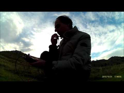Kite Antenna & MHCF QRP Radio